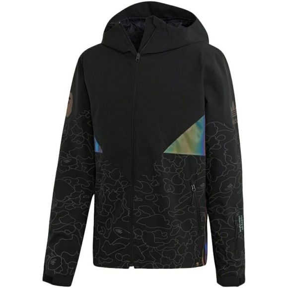 finest selection 360b4 cf8c2 Bape x adidas snowboard jacket